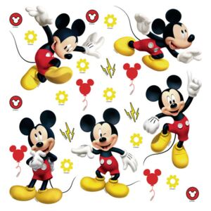 Decorațiune autocolantă Mickey Mouse, 30 x 30 cm