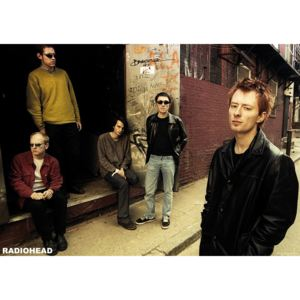 Radiohead - Back Alley 2005 Poster, (84 x 59,4 cm)