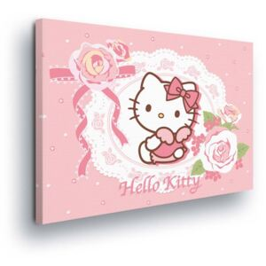 GLIX Tablou - Romantic Hello Kitty 60x40 cm