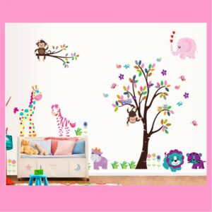 Sticker perete Dream Tree Jungle