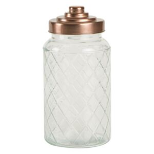 Recipient din sticlă T&G Woodware Lattice, 1200 ml