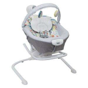 Graco - Balansoar 2 in 1 Duet Sway, Patchwork