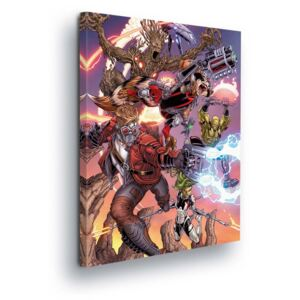 GLIX Tablou - Marvel Guardians of the Galaxy II 60x40 cm
