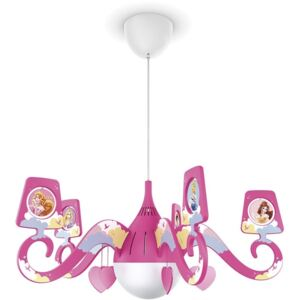 Philips 71757/28/16 - Lampa copii DISNEY PRINCESS 1xE27/15W/230V