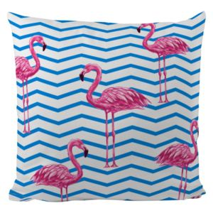 Home perna decorativă colorata cu umplutura Butter Kings Flamingo In Water 50x50cm