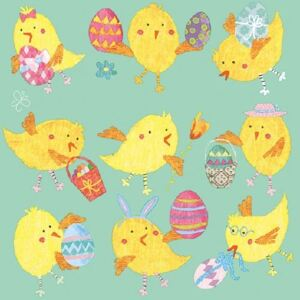 Servetele Easter Chicks 25x25 cm