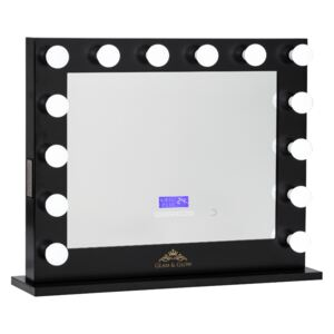 Oglinda Hollywood Glam & Glow The Guilty Queen cu Bluetooth