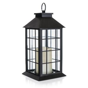 Felinar Home Decor. cu lumânare LED, 14 x 14 x 29 cm