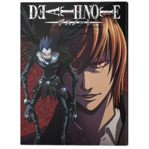 Tablou Canvas Death Note - Light and Ryuk, (60 x 80 cm)