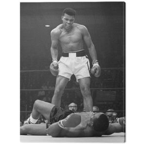 Tablou Canvas Muhammad Ali - Ali vs Liston Portrait, (60 x 80 cm)