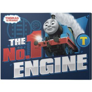 Tablou Canvas Thomas & Friends - The Number One Engine, (40 x 30 cm)