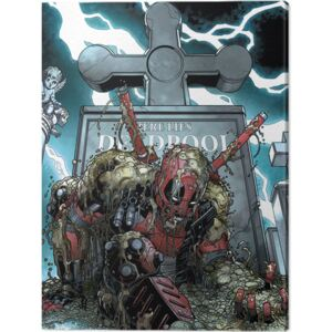 Tablou Canvas Deadpool - Grave, (60 x 80 cm)