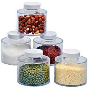 Set condimente Spice Tower, 12 recipiente, transparent