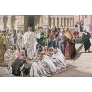 The Pharisees Question Jesus, illustration for 'The Life of Christ', c.1886-96 Reproducere, James Jacques Joseph Tissot