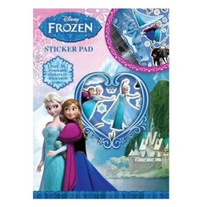 Set creatie Frozen, 30 stickere reutilizabile