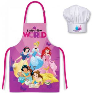 Set sort si boneta de bucatar Printesele Disney
