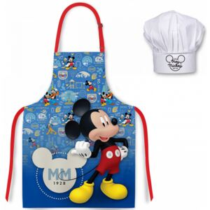 Set sort si boneta de bucatar Mickey Mouse