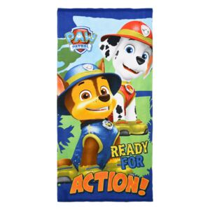 Prosop Paw Patrol Ready for Action 70 X 140 CM poliester
