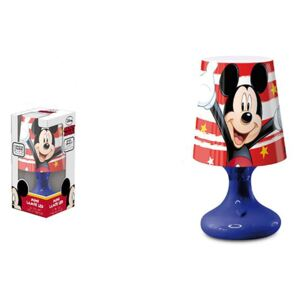 Lampa veghe mini led Mickey Mouse albastru 18.5 cm