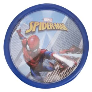 Veioza lampa Led push Spiderman14 cm albastru