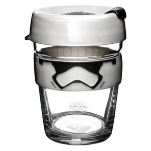 Cană de voiaj cu capac KeepCup Star Wars Stormtrooper, 340 ml