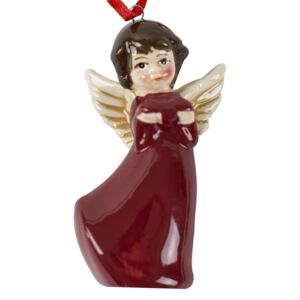 Decoratiune brad Angel Burgundy 2
