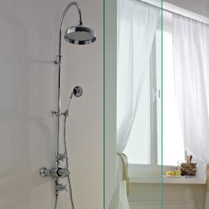 Coloana de dus Thermostatic shower mixer Nuova Retrò Treemme
