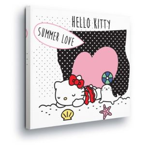 GLIX Tablou - Hello Kitty Summer Love 80x80 cm
