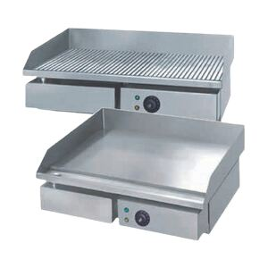 Grill Gratar electric neted Inox