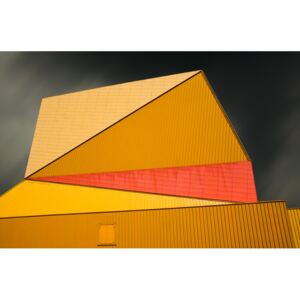 Fotografii artistice The yellow roof, Gilbert Claes