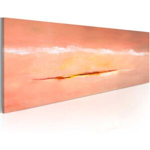Mână pictată imagine Bimago - Abstract dawn 100x40 cm
