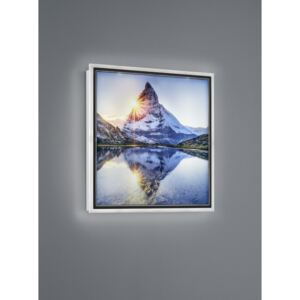 Trio MOUNTAIN R22140301 Iluminat tablou alb plastic incl. 12,5W LED/ 3000K/ 1100Lm 1100lm IP20 A+
