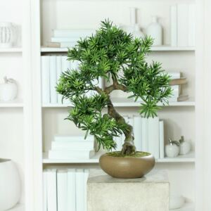 Bonsai artificial decorativ in ghiveci - 55 cm