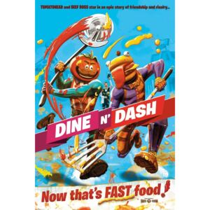 Fortnite - Dine and Dash Poster, (61 x 91,5 cm)