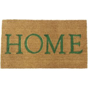 Covoras intrare cocos Home Green 40x70 cm