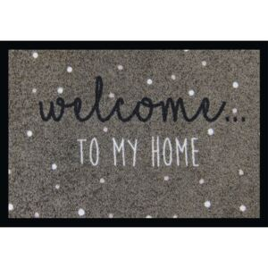 Covoras intrare Welcome to my home 50x70 cm