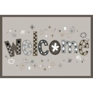 Covoras intrare Welcome Fancy 40x60 cm