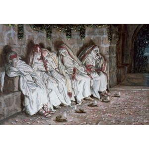 The Foolish Virgins, illustration for 'The Life of Christ', c.1886-94 Reproducere, James Jacques Joseph Tissot