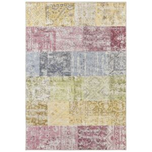 Covor Patchwork Pleasure, Multicolor, 80x200