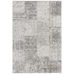 Covor Patchwork Pleasure, Gri, 80x200