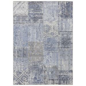 Covor Patchwork Pleasure, Albastru, 160x230