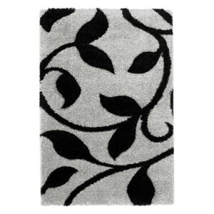 Covor Think Rugs Fashion Grey Black, 80 x 150 cm