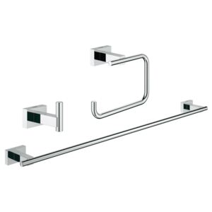 Set accesorii 3 in 1 Guest bathroom Grohe Essentials Cube