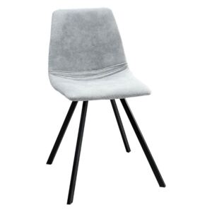 Scaun dining gri Chair Amsterdam Retro Stone Grey