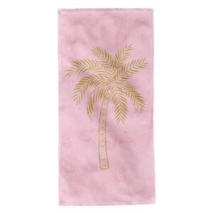 Prosop de plaja Palm Tree Aglika 80x160cm multicolor