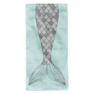 Prosop de plaja Fish Tail Aglika 80x160cm multicolor