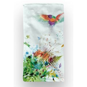Prosop baie si plaja Aglika 70x140cm Jungle Birds
