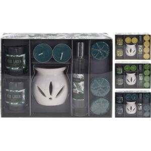 SET 10 PIESE AROMATERAPIE, DISPONIBIL IN 3 VARIANTE DE AROME: DESERT FLOWER/LIME VERBANA/EUCALYPTUS MINT