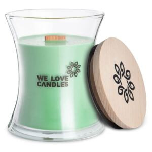 Lumânare din ceară de soia We Love Candles Fresh Grass, durată de ardere 64 ore