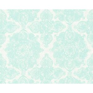 Tapet vlies Boho Love Ornament verde menta 10,05x0,53 m